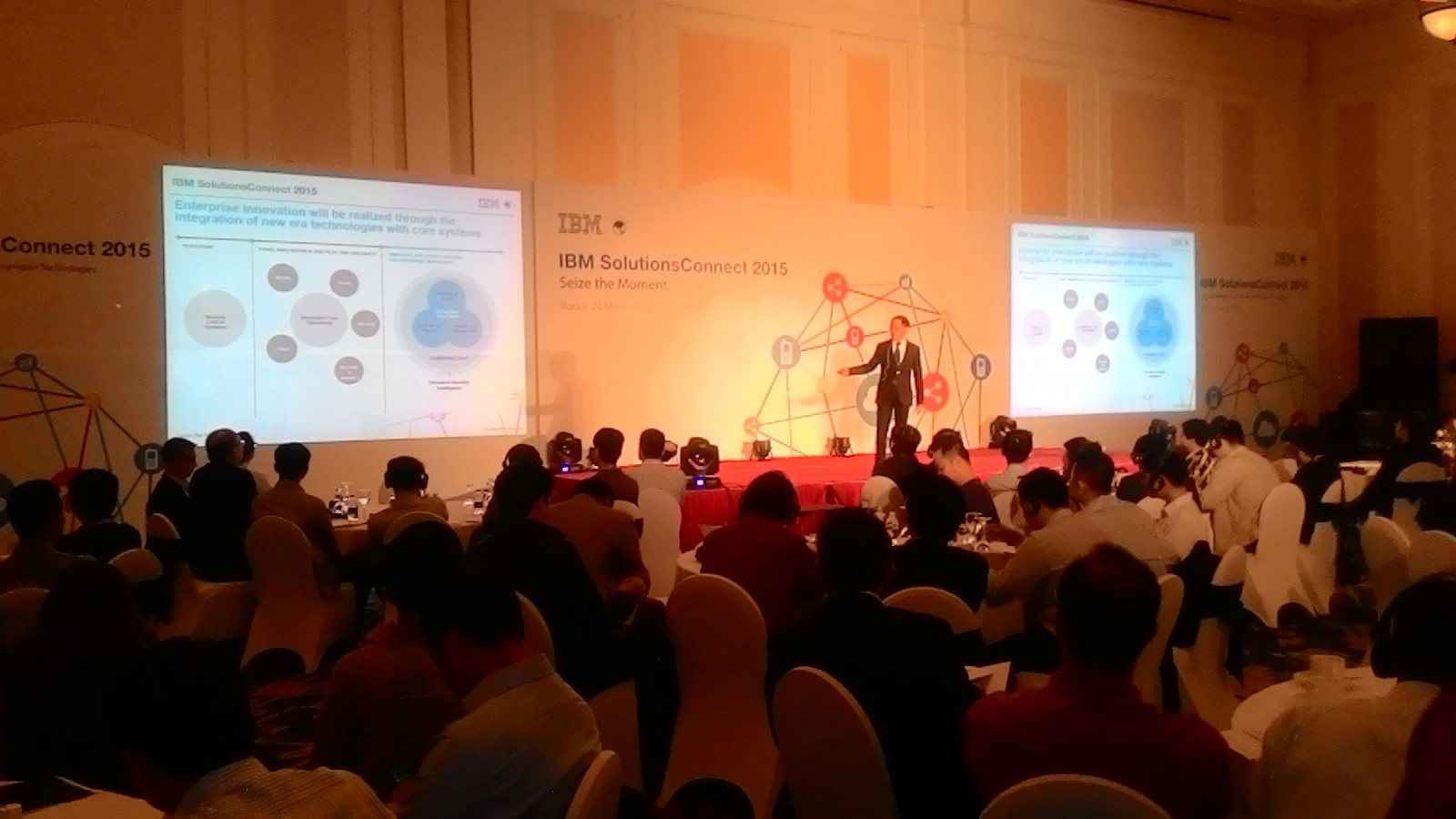 Tổ chức sự kiện IBM Connect Solution 2015